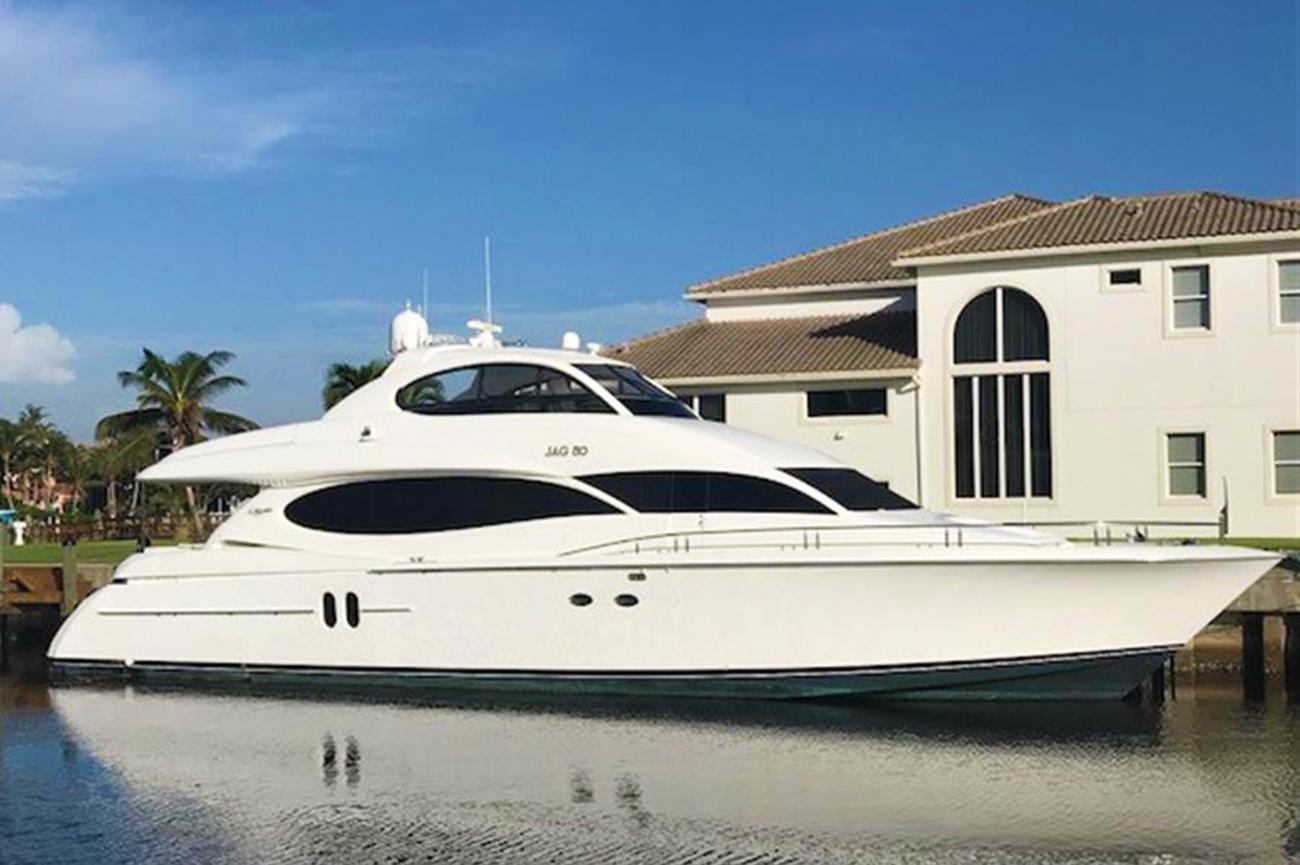 Lazzara Motoryacht Sold by Denison's David Johnson