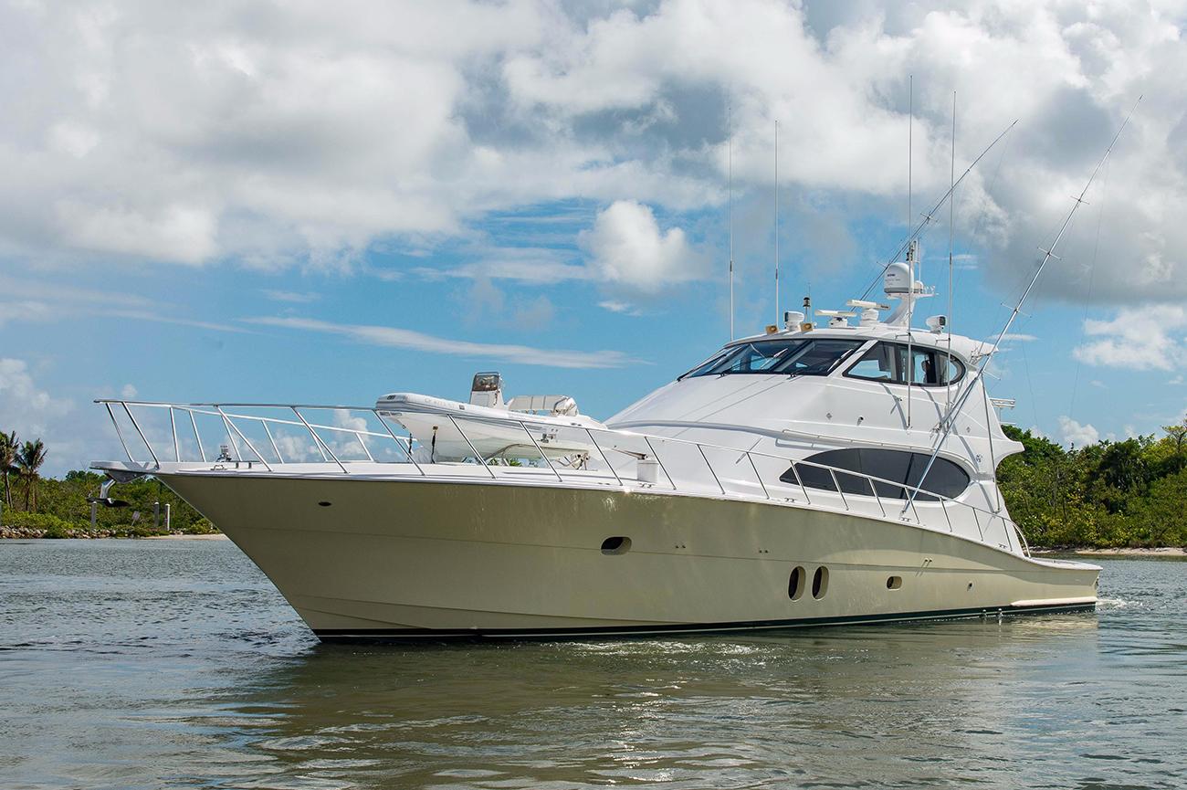 Hatteras 77′ Sportfish Sold by Alex Clarke & Kit Denison