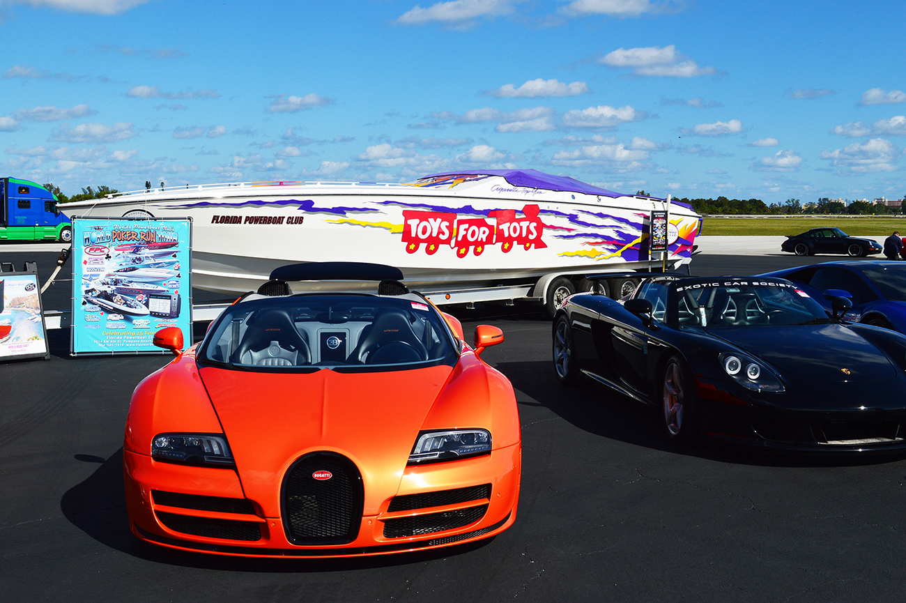 Denison Sponsors Toys For Tots Exotic Car Rally