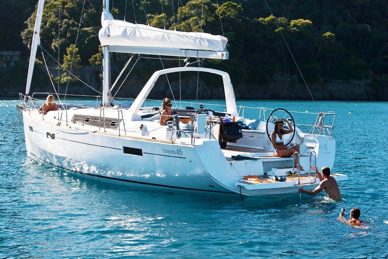 Oceanis 45 joins the Denison Adventures Charter fleet
