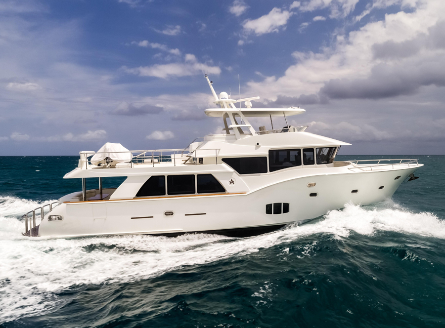 SEA ROVER: 70 Argos Motoryacht Walkthrough