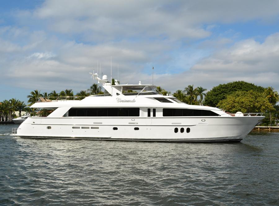 100 Hatteras Sold By Yacht Broker Steve Messenger