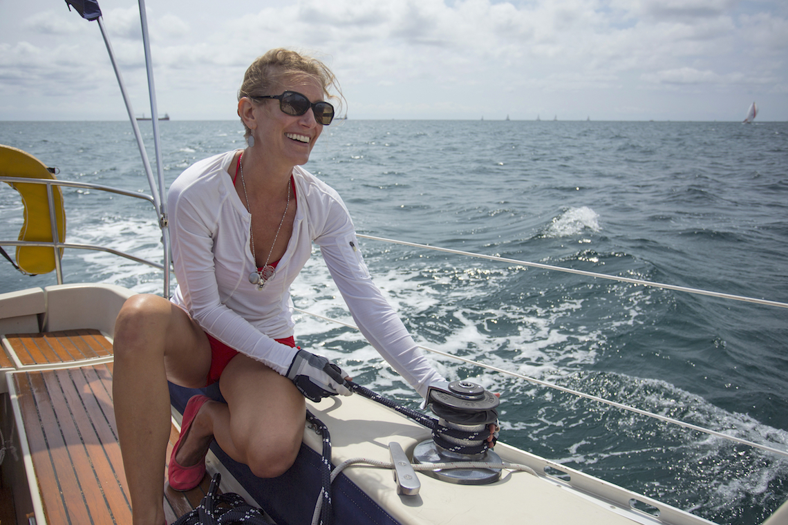 yacht broker Amanda Haley