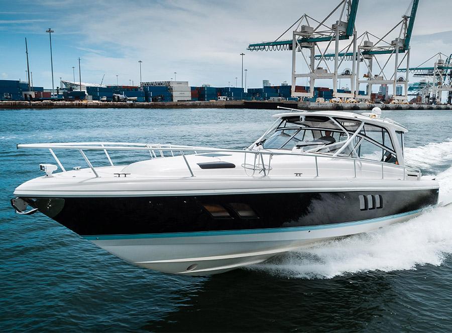 NATURAL BREAK: 475 Intrepid Sportyacht Walkthrough