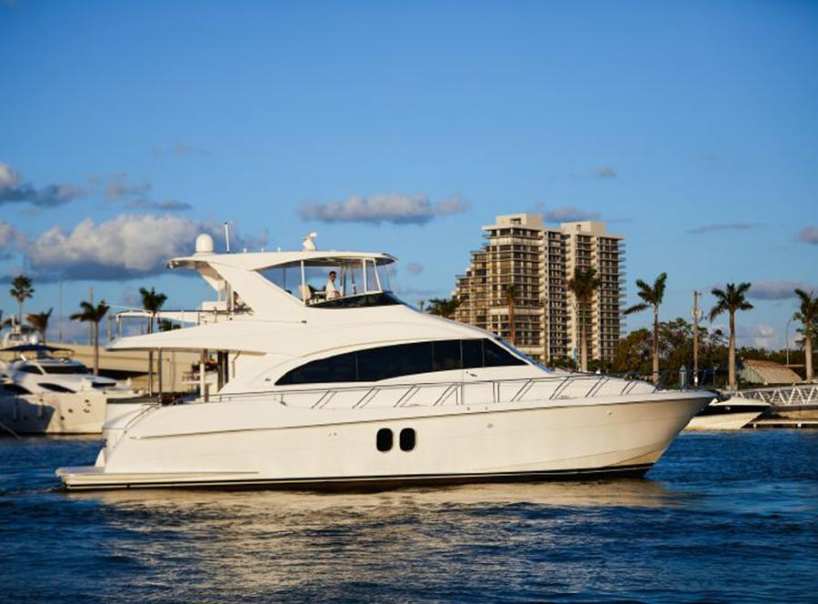60 Hatteras, PROZAC, Sold By Yacht Broker Mike Burke
