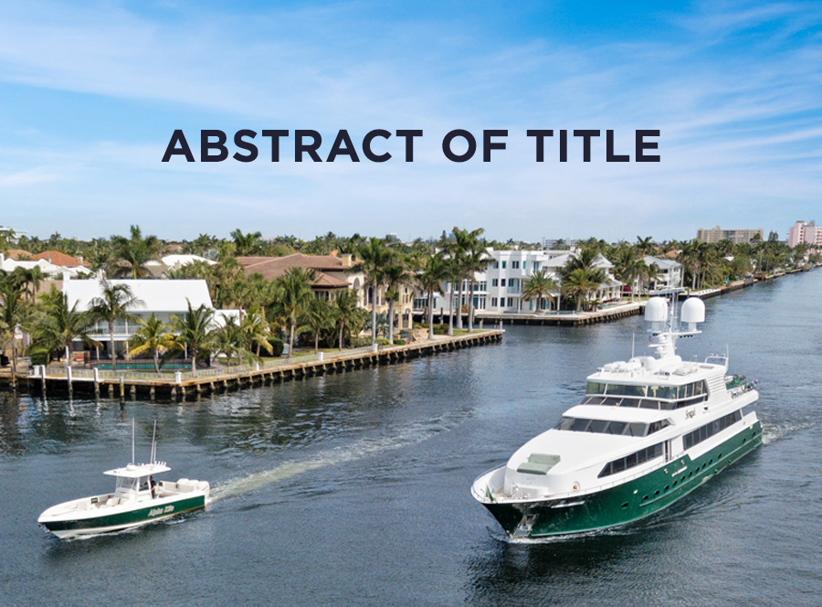 Understanding the Abstract of Title by Howard S  Reeder
