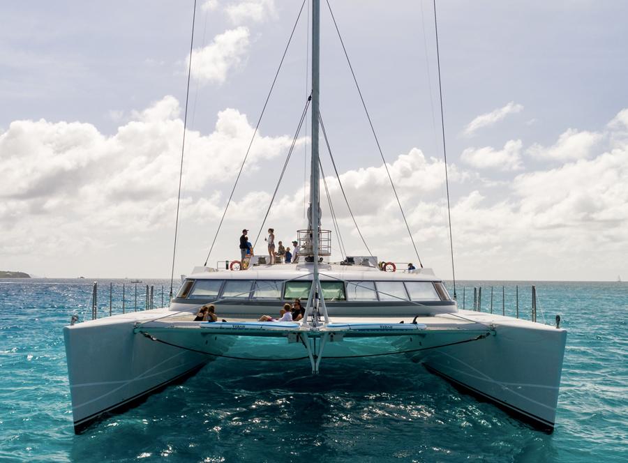 Largest Catamaran Superyachts Sold Denison Yacht Sales
