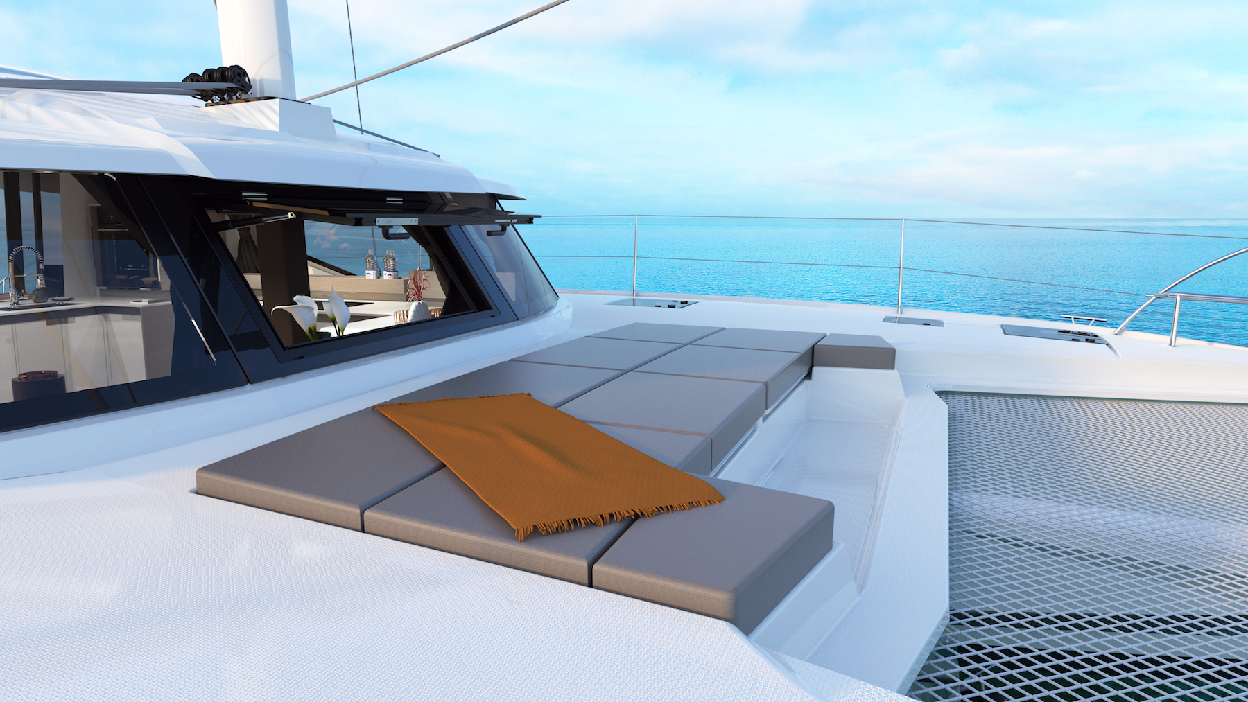 Fountaine Pajot New 45 Catamaran For Sale: Denison Yachting