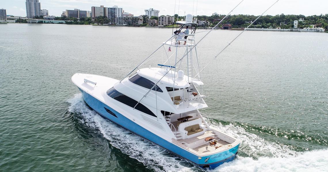 92' Viking Enclosed Bridge 2015 Motoryacht