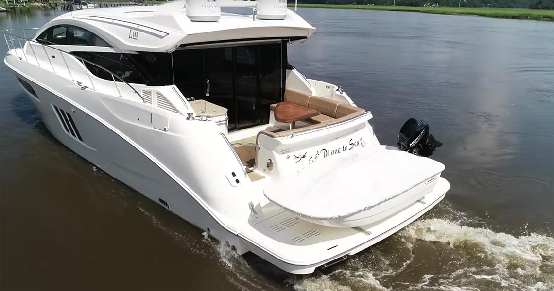 Yacht Walkthrough Sea Ray L590 2017