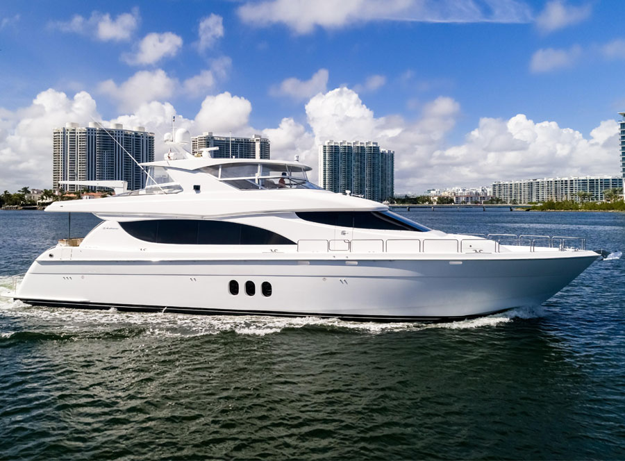 80 Hatteras Sold By Steven Carlson and David Johnson