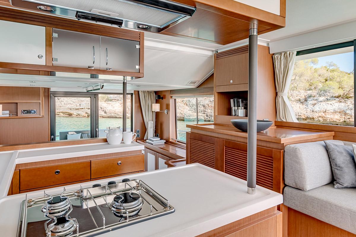 Beneteau Swift Trawler 50 — Galley