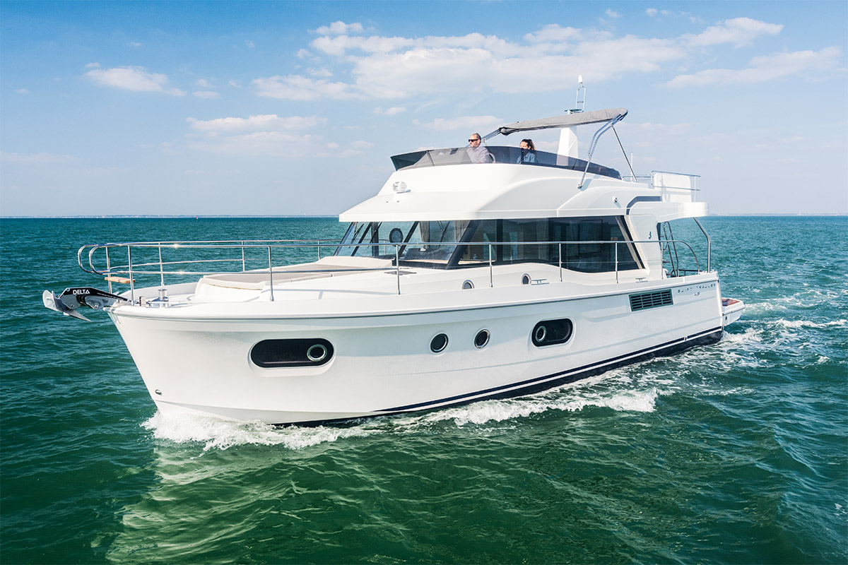 Beneteau Swift Trawler 47 — Boldly Designed