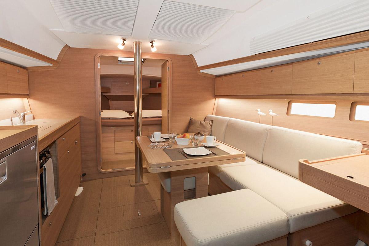 Dufour 382 Grand Large — Luxury Comfort