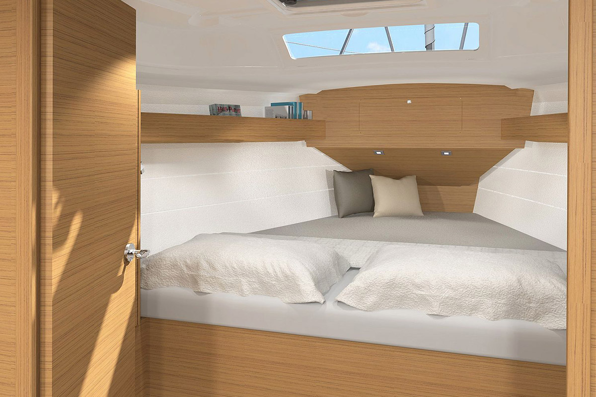 Dufour 360 Grand Large — Stateroom