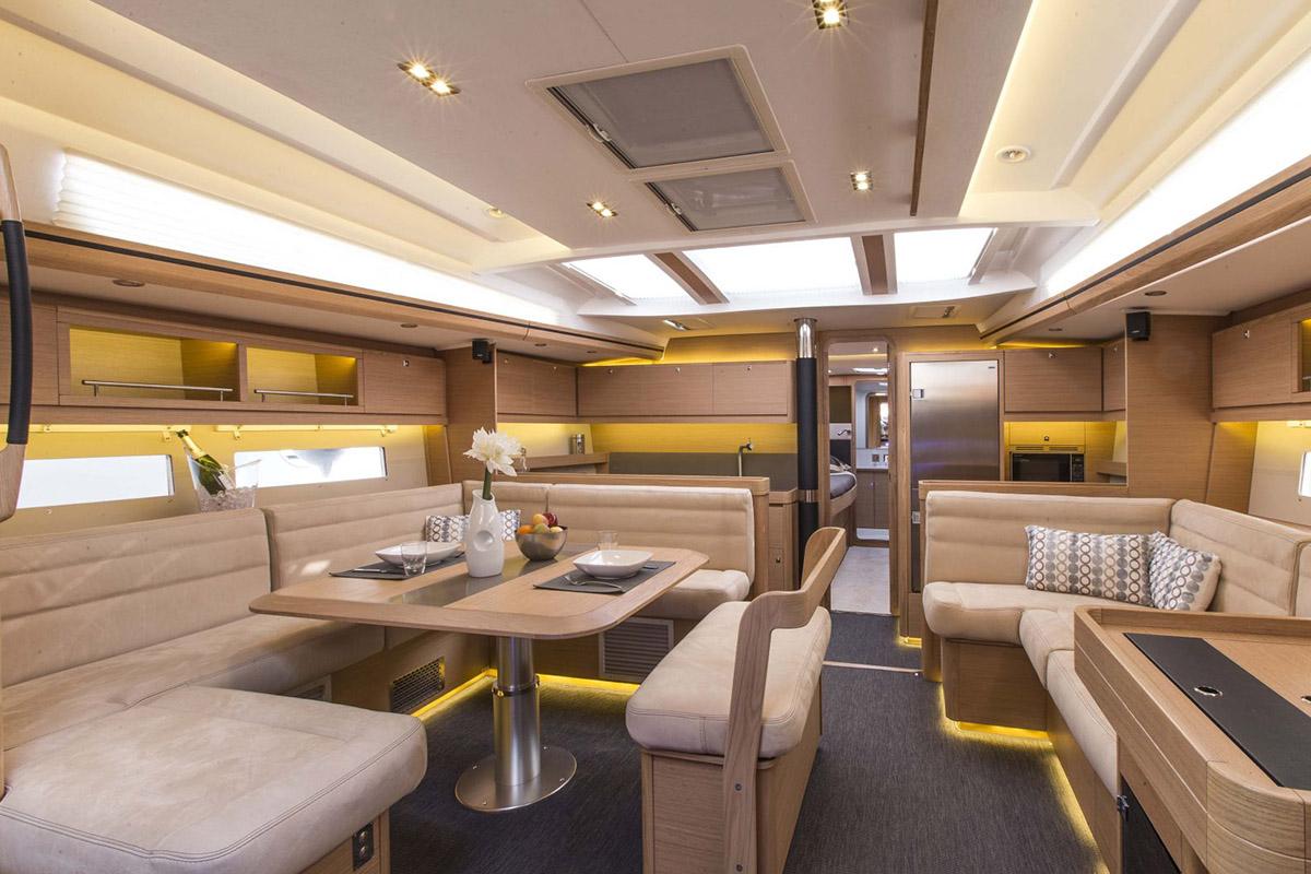 Dufour Exclusive 56 — Inviting Interior