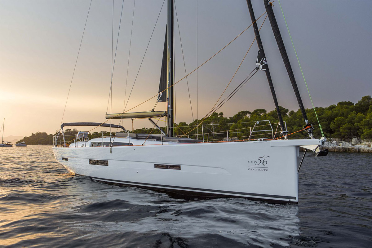 Dufour Exclusive 56 — Boldly Designed