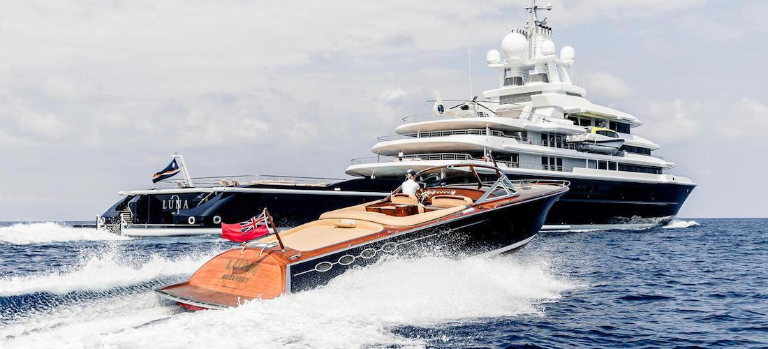 Superyacht for Charter LUNA