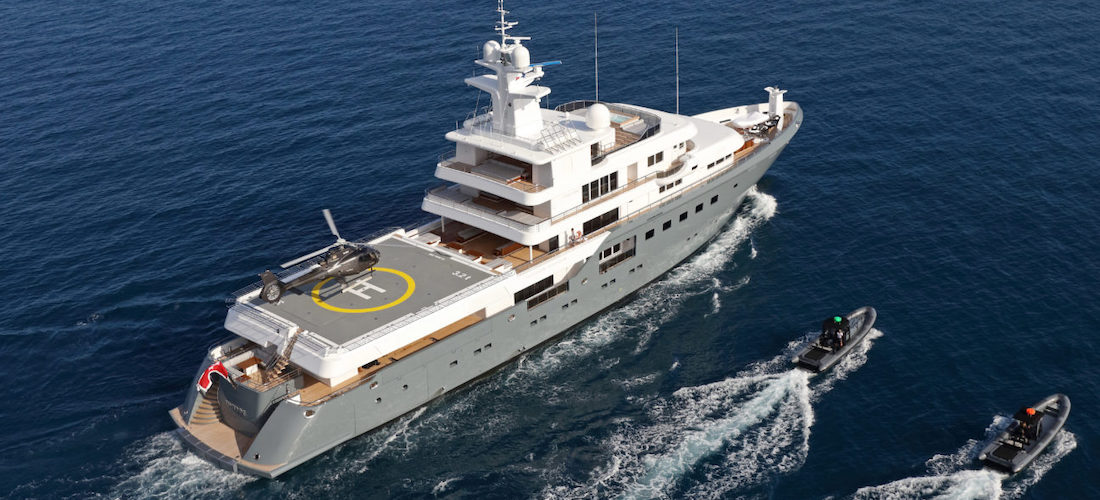 Luxury Superyacht PLANET NINE