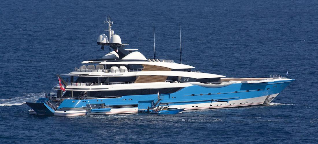 Superyacht for Charter MADAME GU