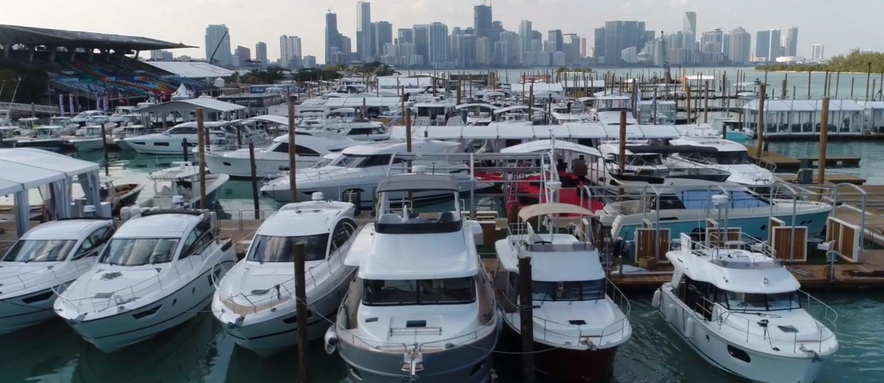 Miami Boat Show Marine Stadium