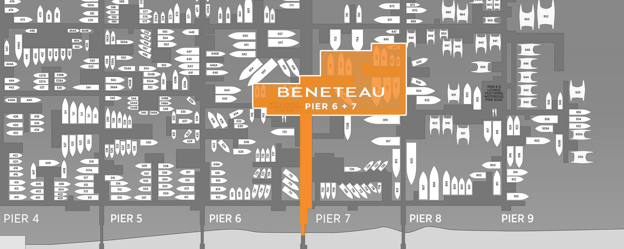 miami-boat-show-beneteau-map