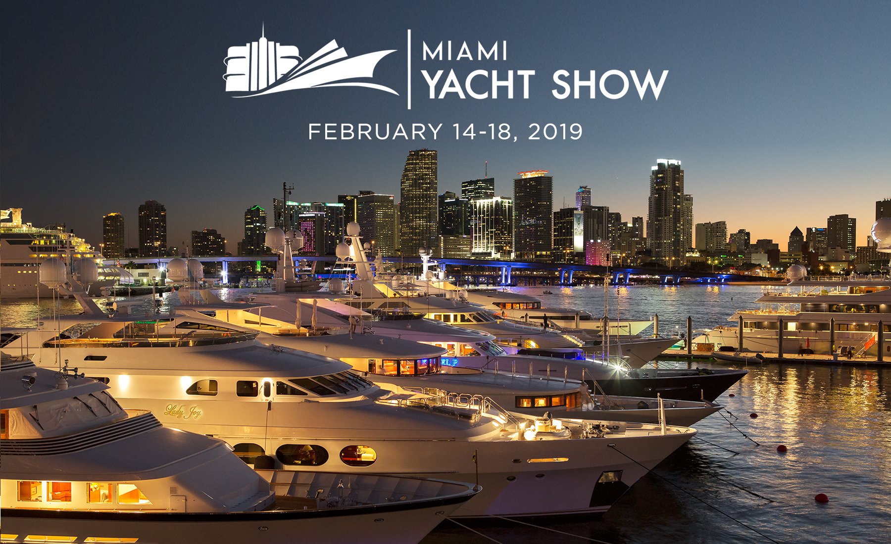2019 Miami Yacht + Boat Show | New Downtown Location