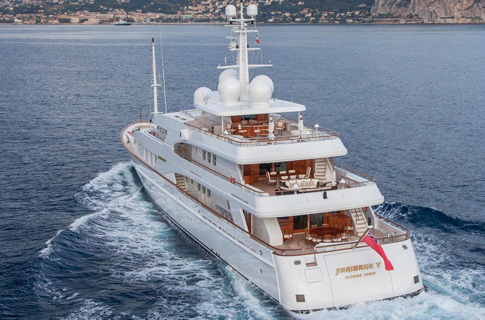 178' Amels Custom Superyacht | FARIBANA V - photo 5