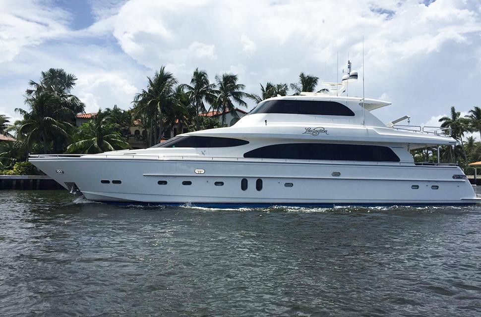 Luxury Yacht For Charter: 85' Horizon 2007 | LEXINGTON - photo 1