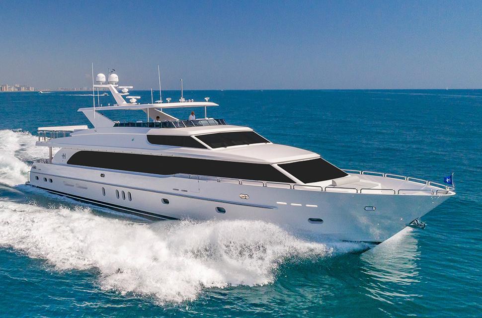 Luxury Yacht Rental: 100' Hargrave RP | MB 3 - photo 1