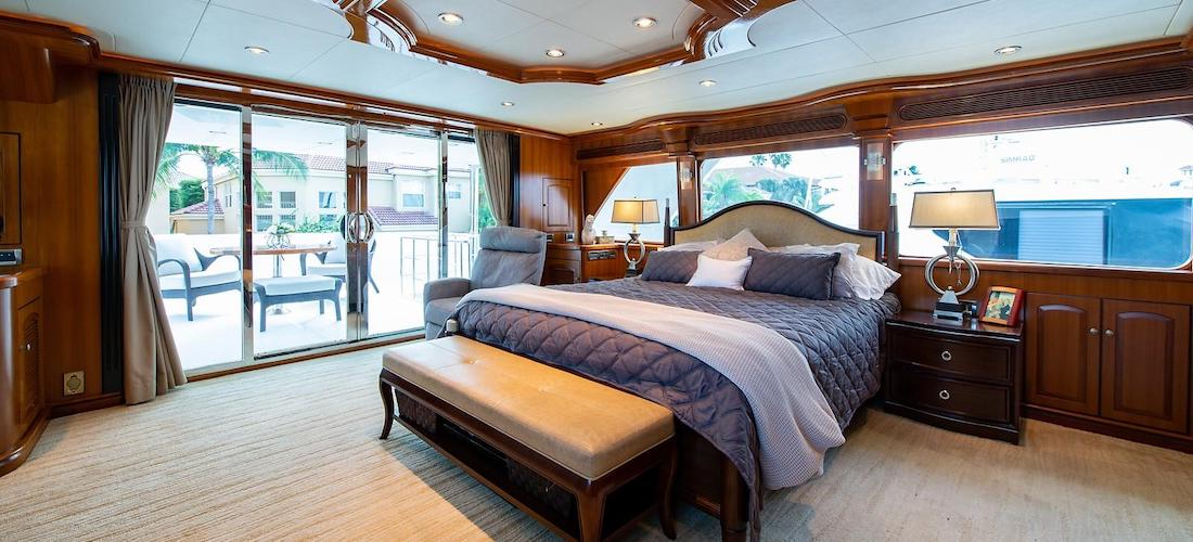 107 President Yacht D-FENCE Stateroom