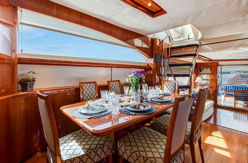 Luxury Yacht Rental: 75' Viking Princess | RHOBOAT - photo 5