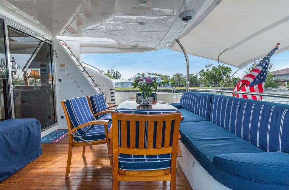 Luxury Yacht Rental: 75' Viking Princess | RHOBOAT - photo 4