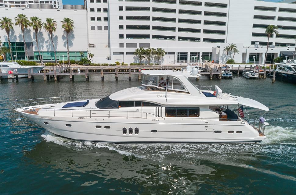 Luxury Yacht Rental: 75' Viking Princess | RHOBOAT - photo 1