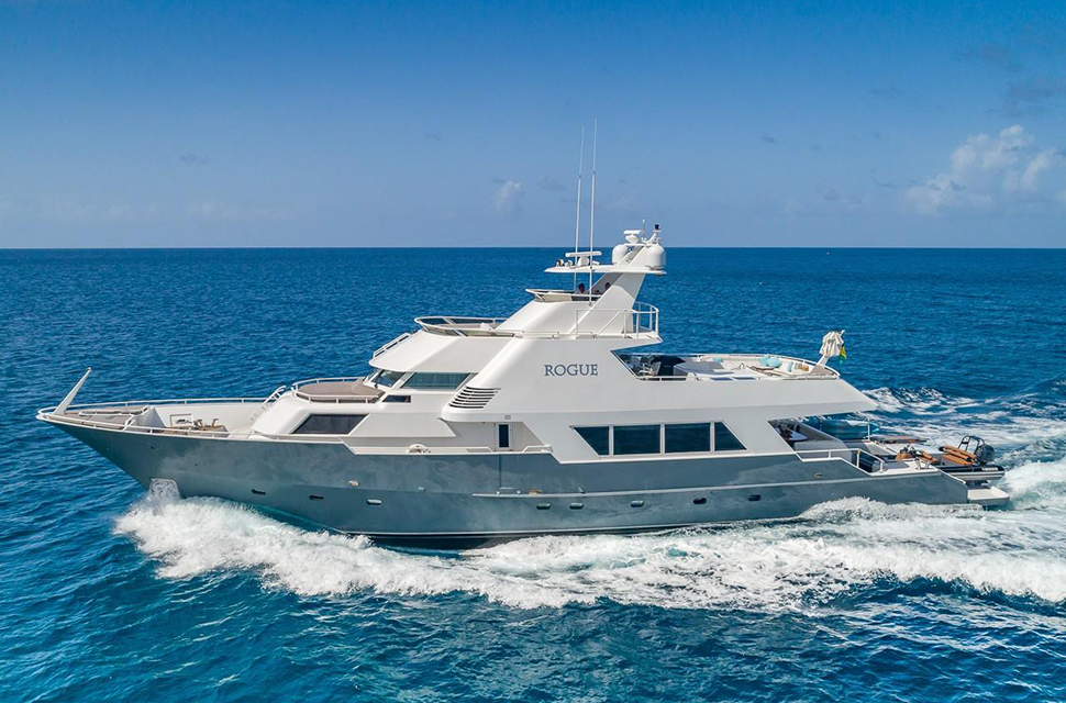Luxury Yacht Charter: 105' Poole Chaffee | ROGUE - photo 1