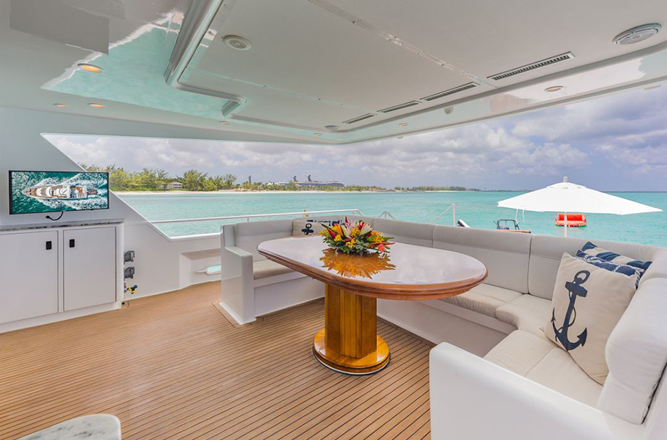 Luxury Yacht Charter: 105' Poole Chaffee | ROGUE - photo 3