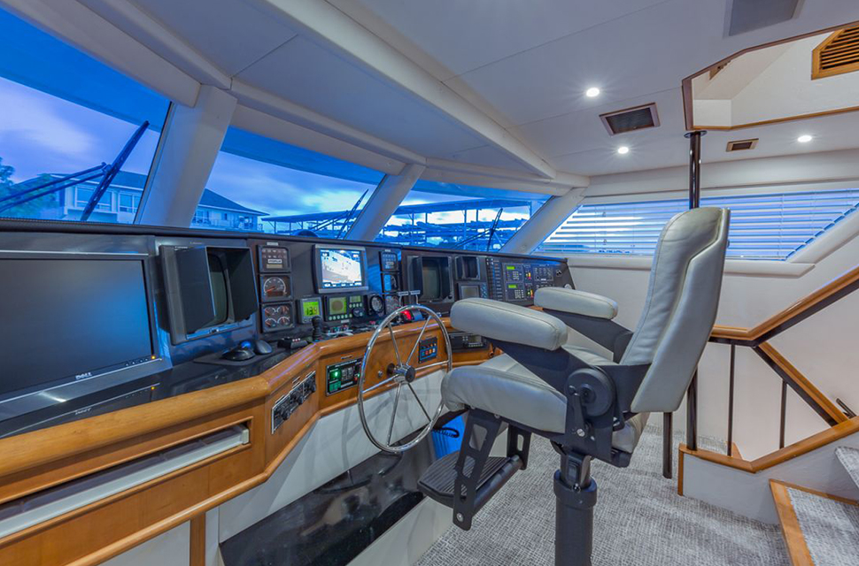 Luxury Yacht Charter: 105' Poole Chaffee | ROGUE - photo 4