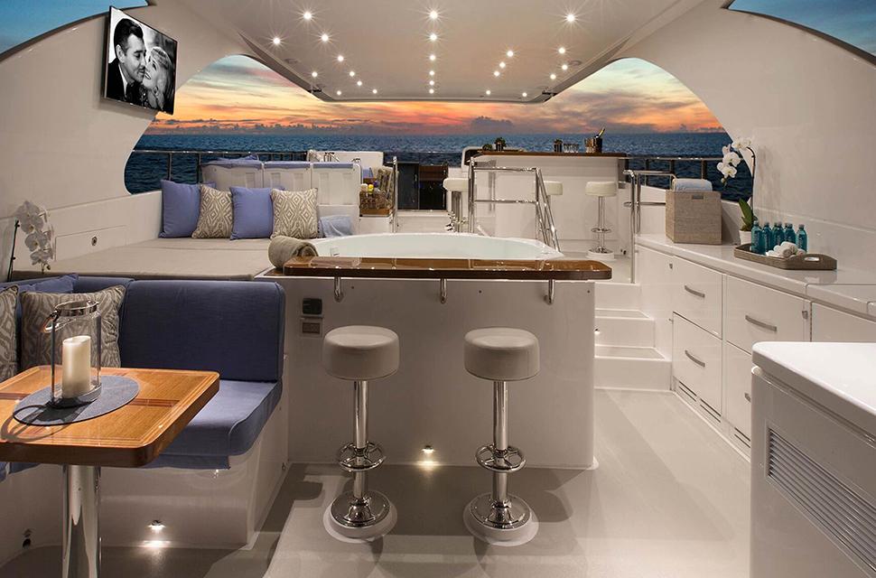 Luxury Yacht Rental: 116' Hargrave 2016 | RENAISSANCE - photo 5
