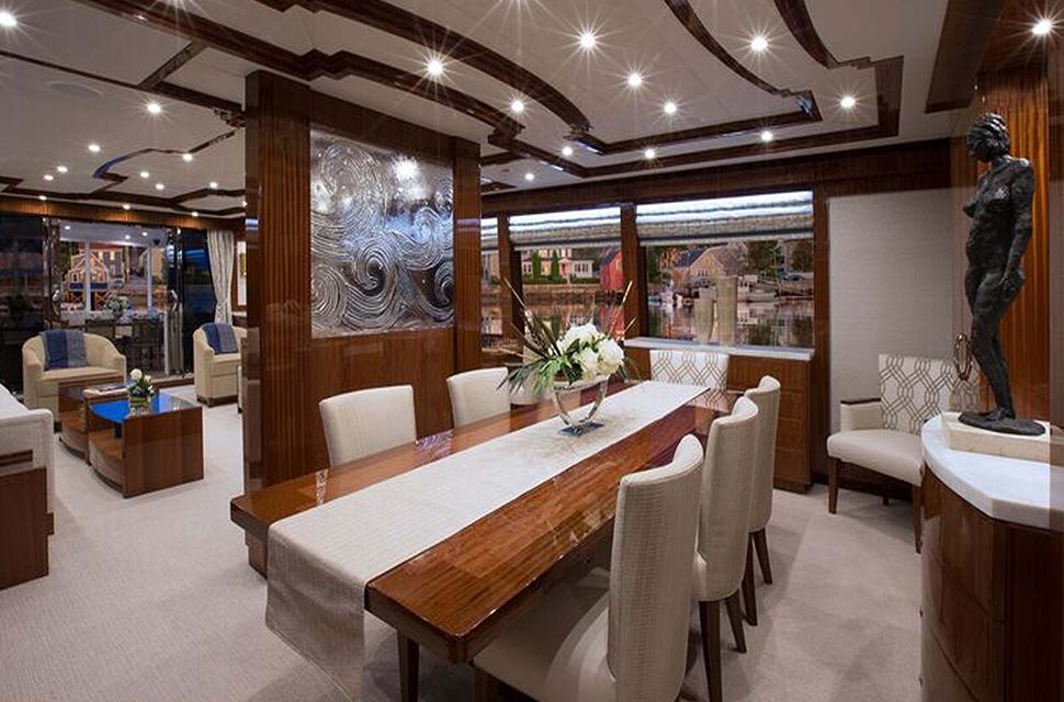 Luxury Yacht Rental: 116' Hargrave 2016 | RENAISSANCE - photo 2