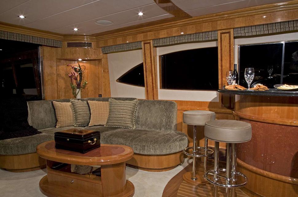 Luxury Yacht Rental: 98' Hargave 2007 | TIGERS EYE - photo 2