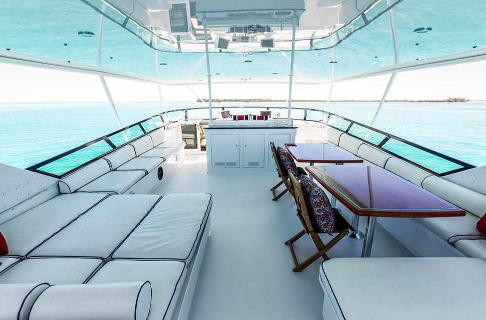 Luxury Yacht Rental: IL CAPO   110' Broward Marine - photo 2