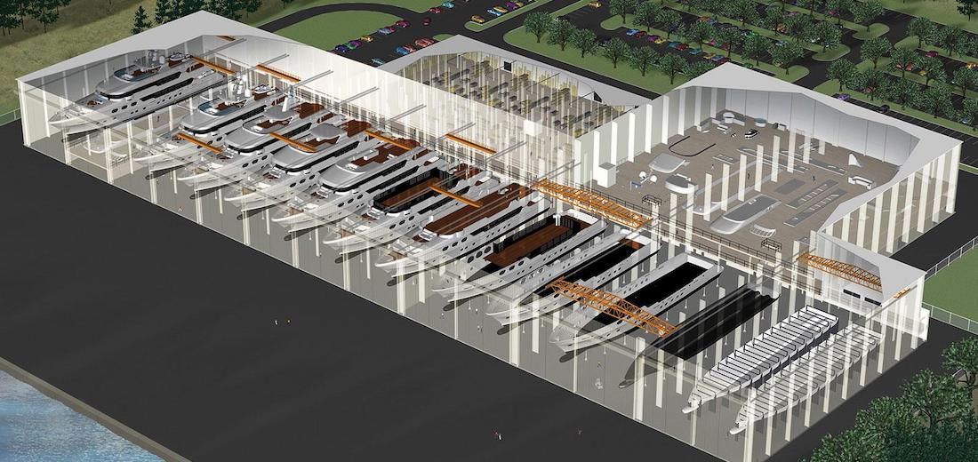 Christensen Yachts New Tennessee Shipyard
