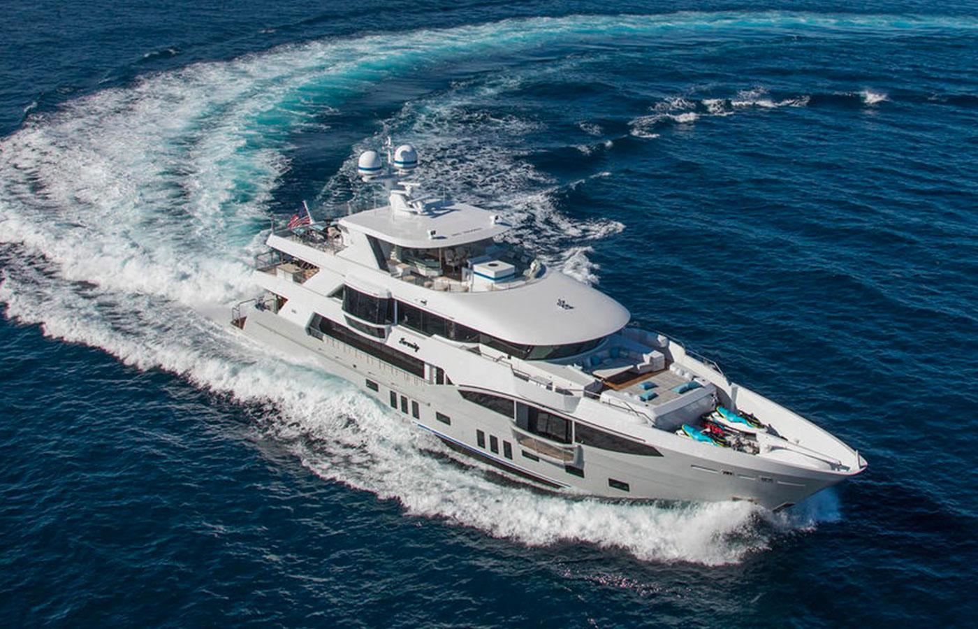 SOLD: 133′ IAG 2016 By Yacht Broker Kurt Bosshardt