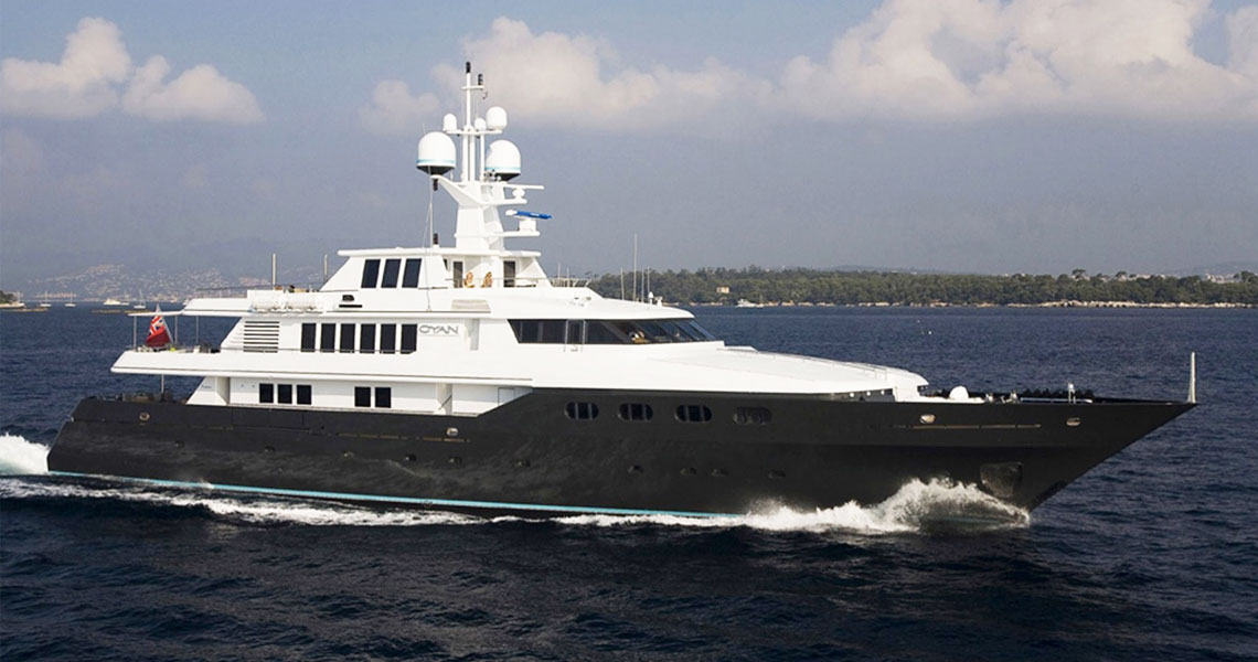 10 Jaw Dropping Celebrity Superyachts