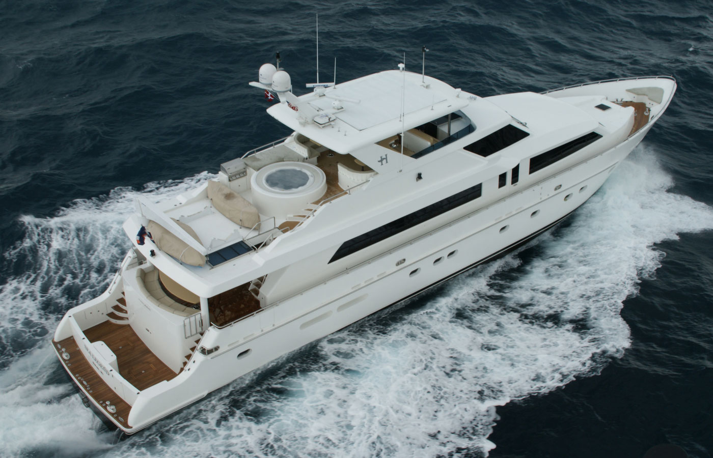 SOLD: 114′ Hargrave 2009 By Yacht Broker Michael Ebeling