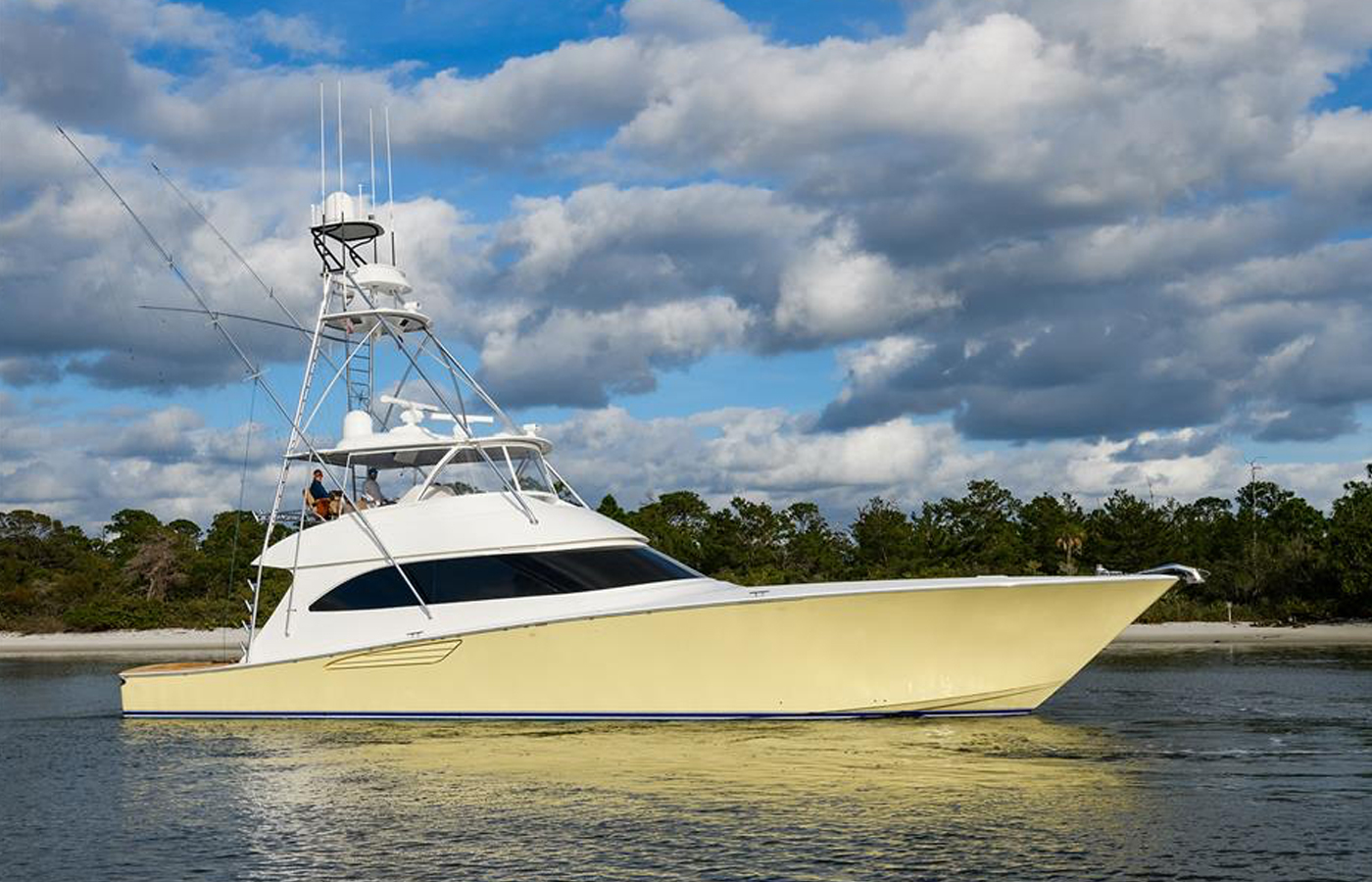 SOLD: 70′ Viking 2015 By Yacht Broker Mike Burke