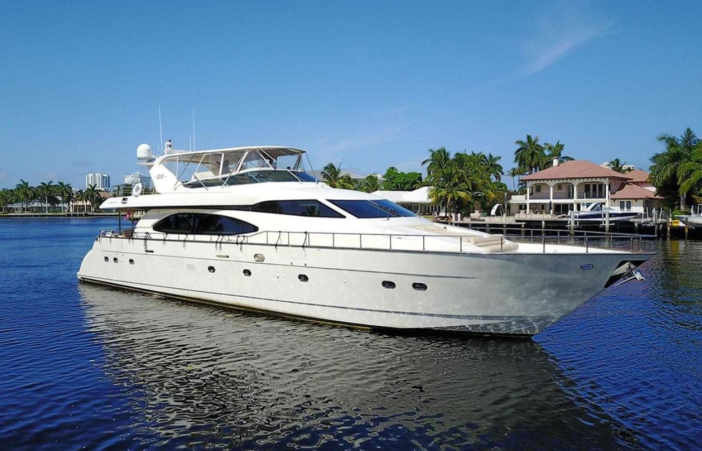 SOLD: 85′ Azimut 2007 By Yacht Broker Bobby Nofsinger