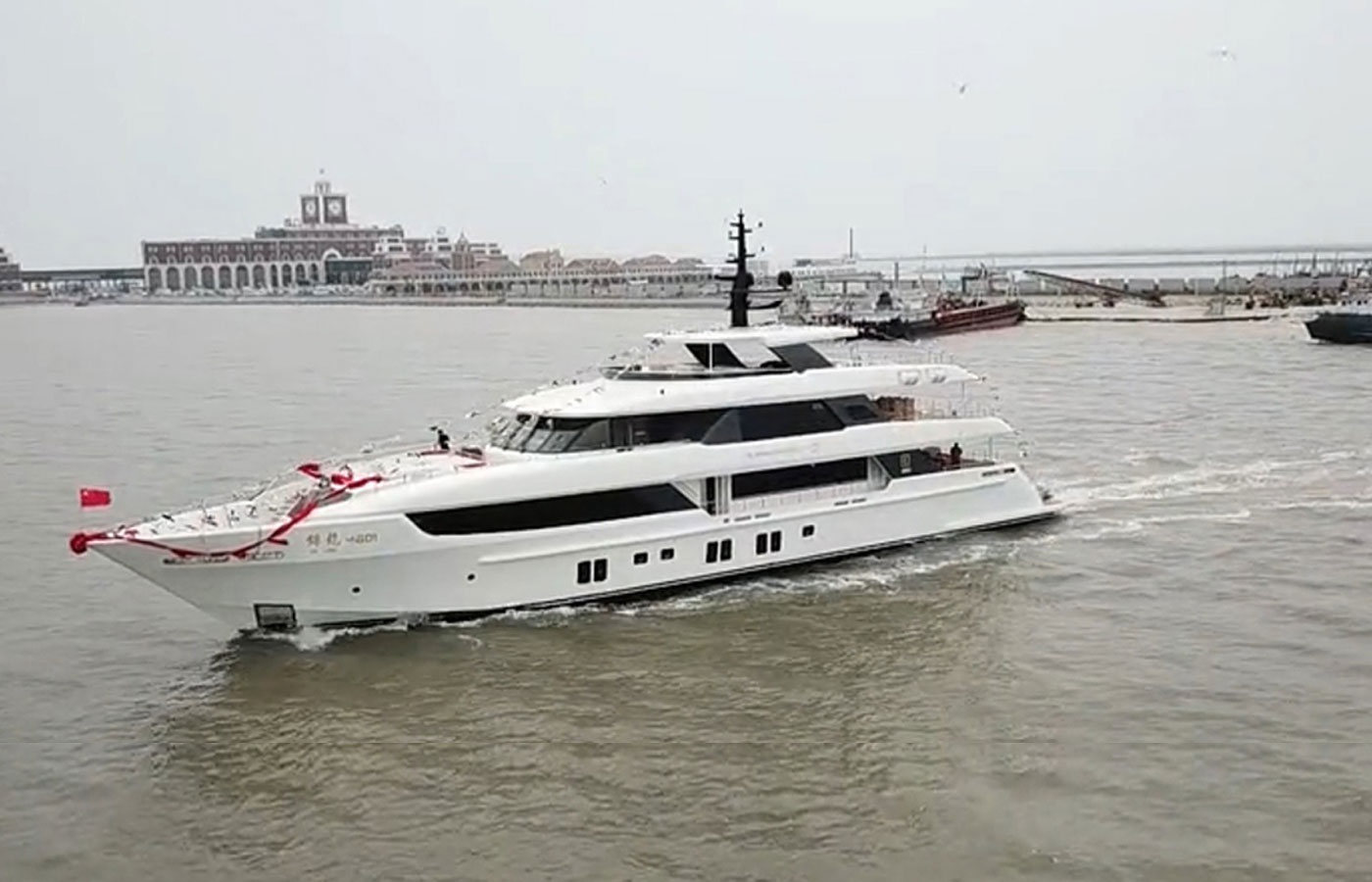 Jack Chan Buys Yacht Launched By Shipyard Located In China