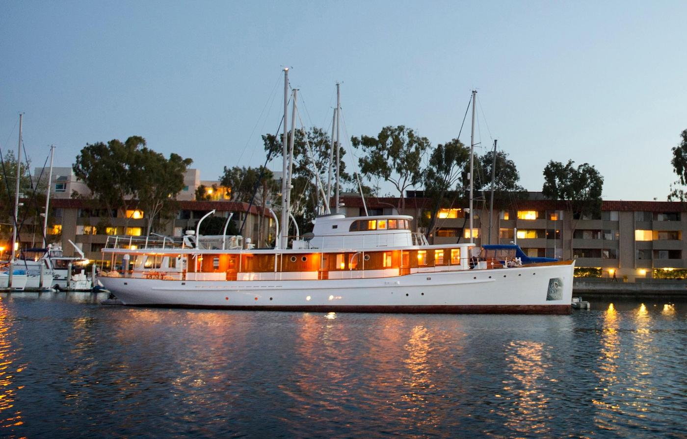 105 Classic Antique 1929 Motor Yacht Vintage Highlight