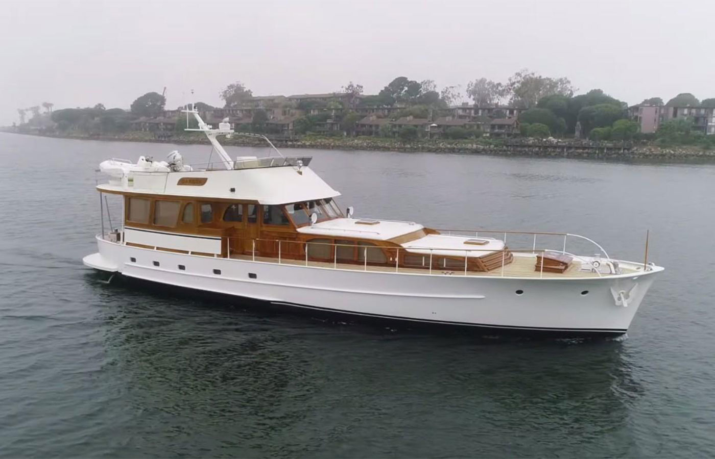 Yacht Walkthrough: 68 De Vries Classic Dutch Yacht